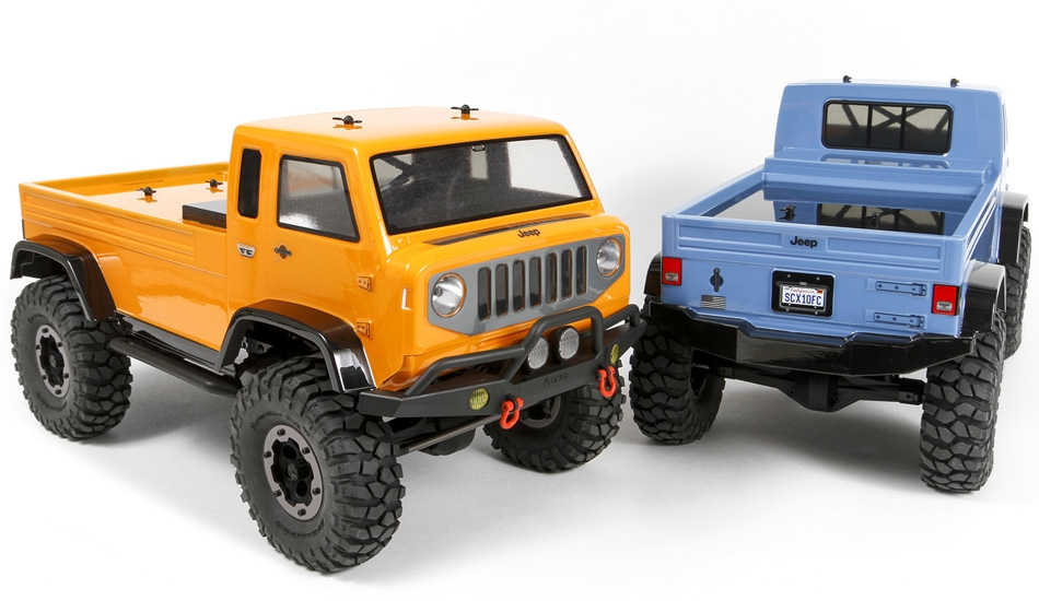 "Jeep Mighty Fc >> Axial Jeep Mighty FC Body .04"" Clear"
