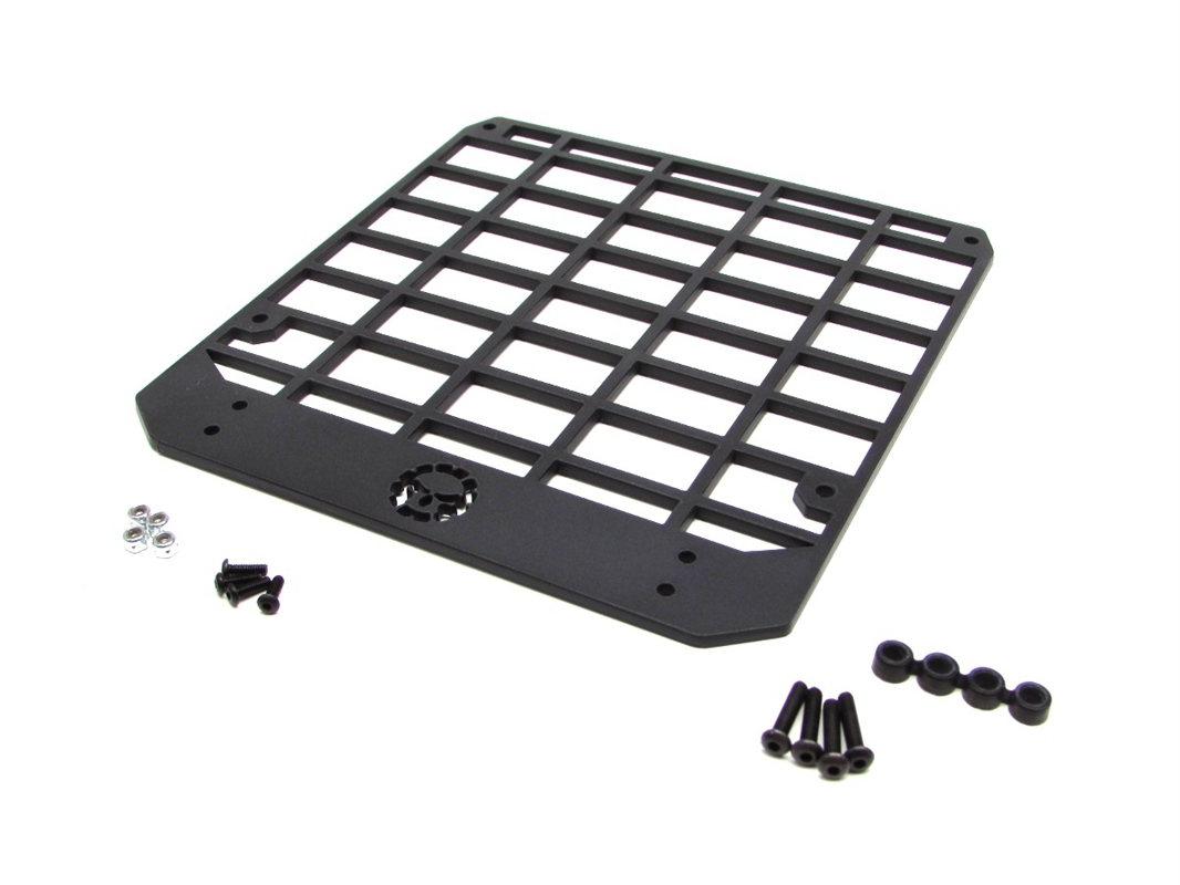 Gear Head Rc 1 10 Scale Wraith Slim Line Roof Rack With