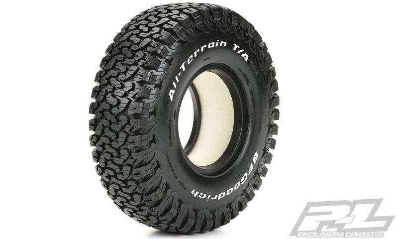 pro line bfgoodrich all terrain ko2 1 9 g8 rock terrain truck tires 2. Black Bedroom Furniture Sets. Home Design Ideas