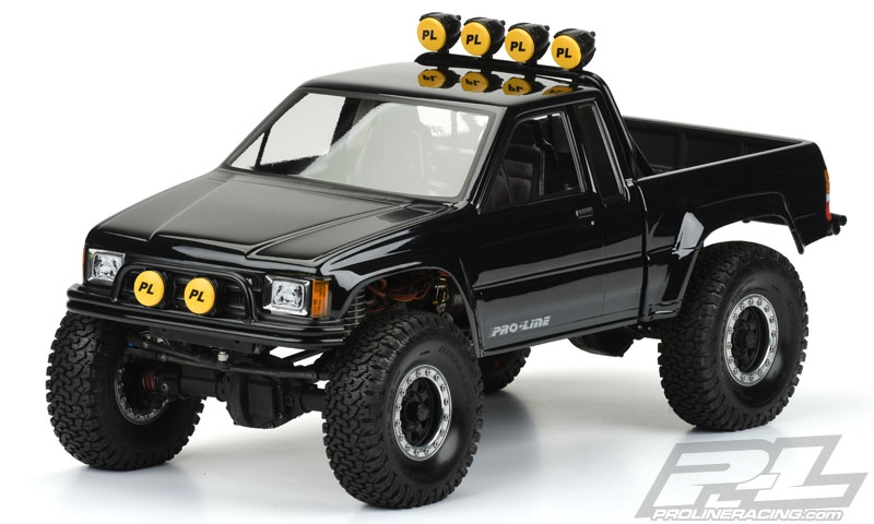 Pro Line 1985 Toyota Hilux Sr5 Clear Body Scx10