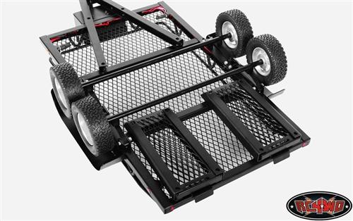 Rc4wd Bigdog 1 10 Dual Axle Scale Car Truck Hauler