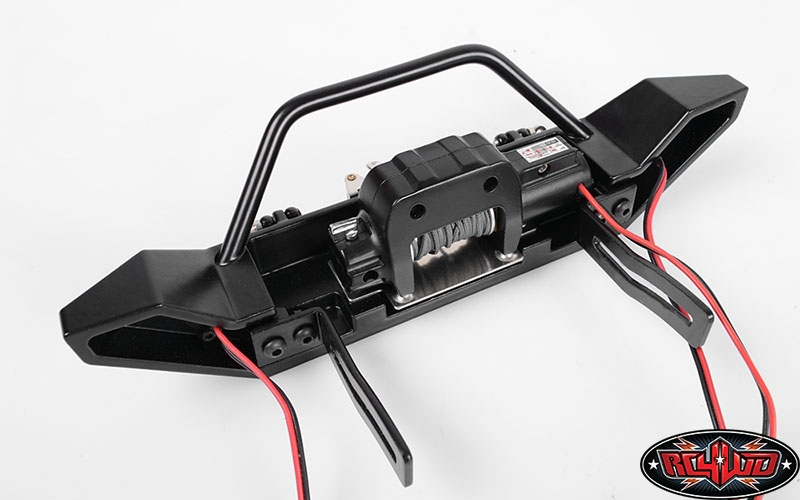 Rc4wd Rock Hard 4x4 Full Width Front Bumper For Axial