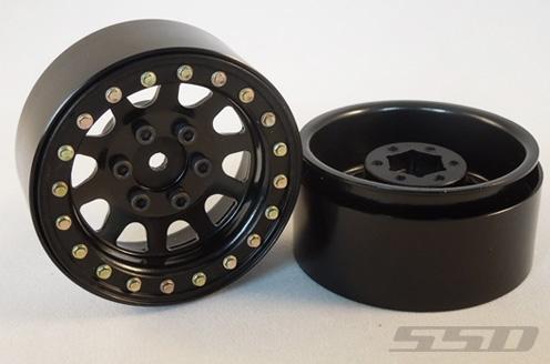 Ssd 1 9 Quot Steel D Hole Wheels Black 2