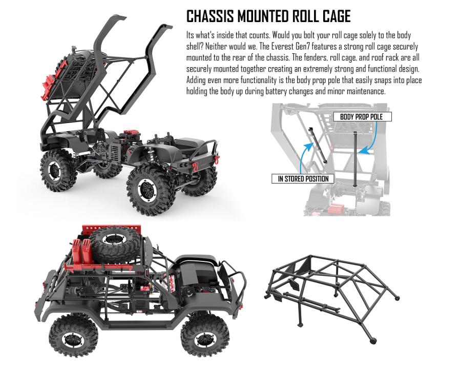 Redcat Racing Everest GEN7 PRO 1/10 Truck (Black) RTR