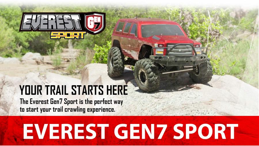 Redcat Everest GEN7 Sport 1/10 Truck (Dark Orange) RTR