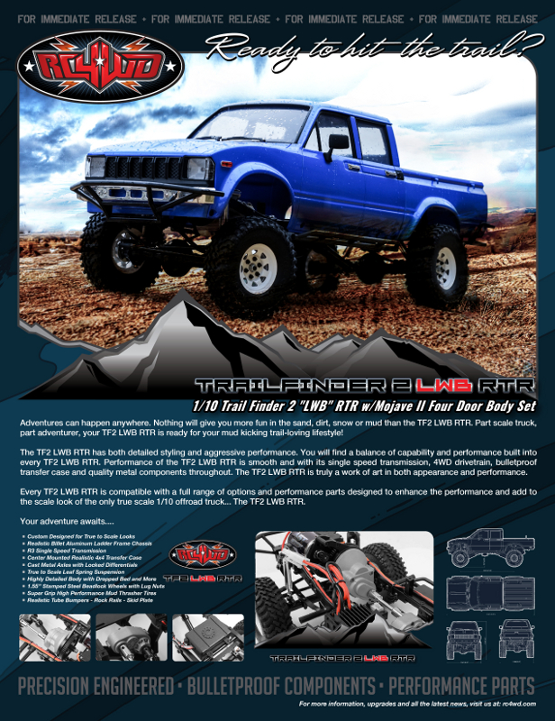 RC4WD Trail Finder 2 \