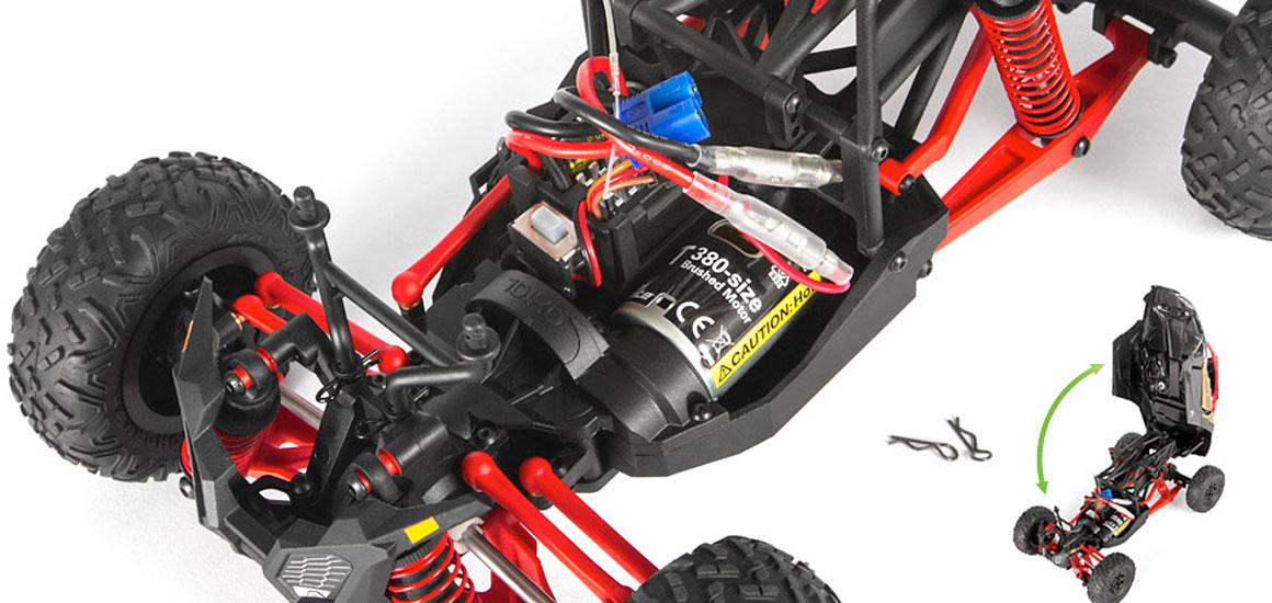 Axial Yeti Jr Can-Am Maverick X3 T 1/18 4WD RTR