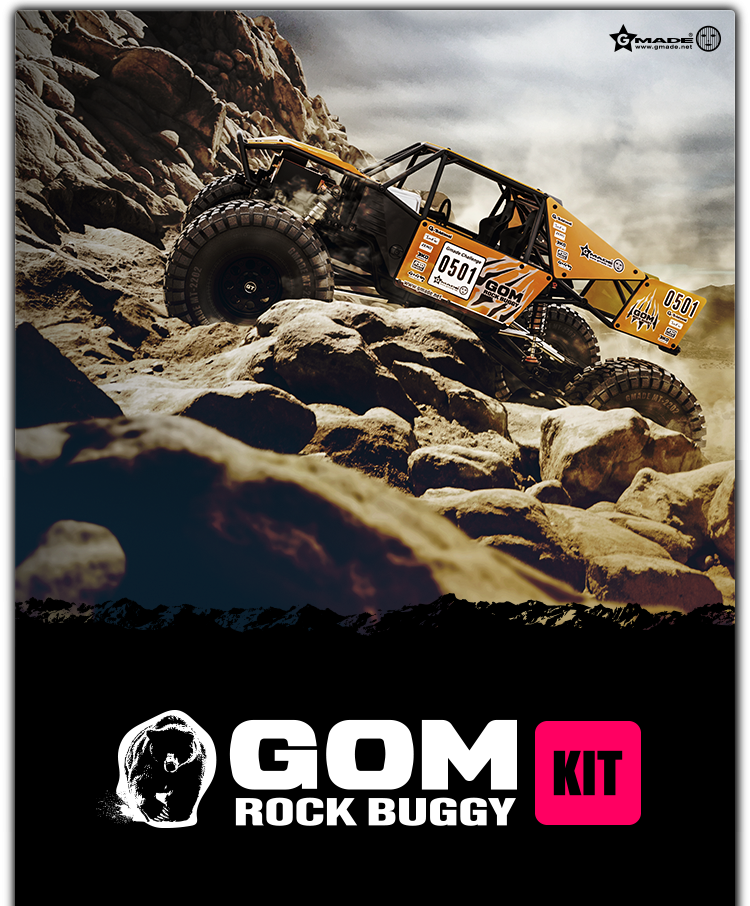 Gmade GR01 4WD GOM Rock Crawler Buggy Kit