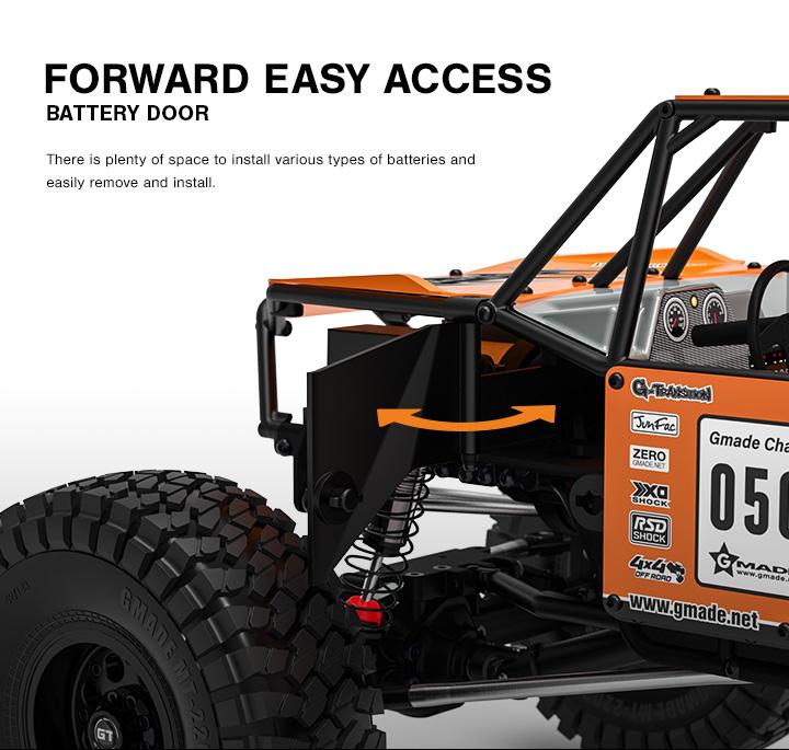 Gmade GR01 4WD GOM Rock Crawler Buggy Kit