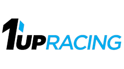 1Up Racing QuikChek Decal - Blue Accent